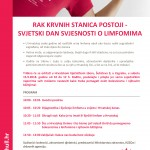 HULL - dan limfoma 2018 plakat za bolnice